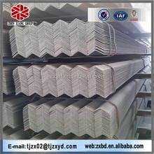 50*50*3mm thk x 6m L (grade q235 a36 s235jr) equal Hot dipped galvanised angle iron