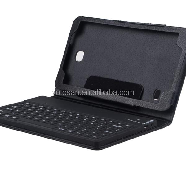 Bluetooth Keyboard Case Cover for Samsung Galaxy Tab 4 7.0 Inch
