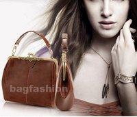 Best selling 2014 Retro Vintage Lock shoulder bag