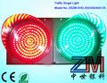 Shenzhen fábrica zszm vermelho/verde tráfego led pisca-pisca