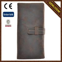 best selling Coffee stylish design credit card wallet for men