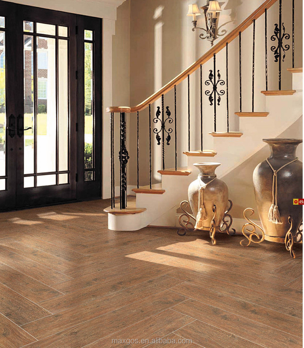 Geglazuurde keramische tegels brandwerend hout ontwerp voor ...