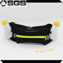 New sport product of running belt with two bottles
