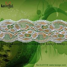 Hot Selling Fashion Jacquard Elastic Lace