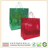 Fancy Wedding Customized Paper Gift Bag