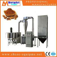 AEM-40-2 Chocolate cocoa air dry powder milling machine