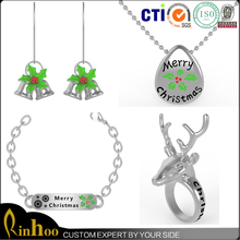 Factory Direct 2015 Latest Design Christmas Jewelry