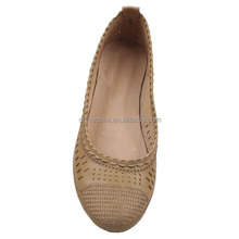 Fashion women comfort casual leather moccasin shoes