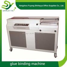 China lower price glueing machine A3/A4 book binding machine