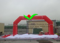 commercial inflatable red Oxford Cloth light inflatable arch door