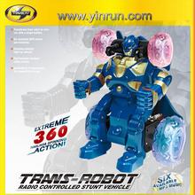 8038 rc trans-robot car radio control toys 4 wheel electric car