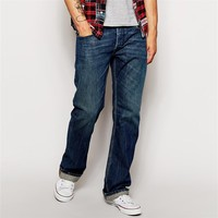 Wholesale mid wash fantasy jeans