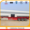 2015 China manufacture 3 axles flatbed 40ft container best selling semitrailer
