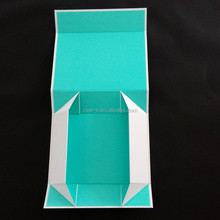 Accept Small Quantity Custom Brand Name Printed Packaging Magnetic Closure Folding Gift Box