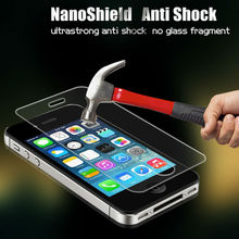 New phone accessories explosion proof screen protector for iphone4 nano shock proof screen protector