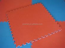Professional manufacturer anti-fatigue EVA foam interlocking floor mats, Jigsaw interlocking mat, arts taekwondo interlocking m