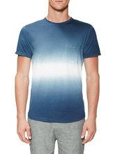 Plain Round Neck T Shirt Couple Plain Color Pocket Men T Shirt