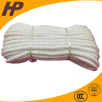 Fatigue Resistance 3mm white nylon rope breaking strength