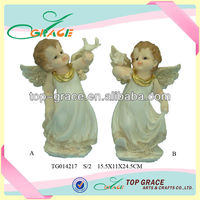 Resin birthday gifts life size angel statue