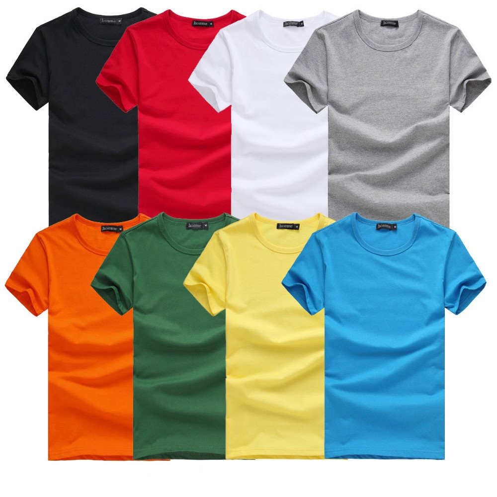 Gzy 2015 summer bulk t shirt wholesale blank t shirt new for Where to order blank t shirts