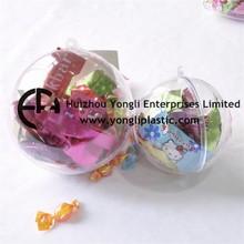 Enfeite de natal bola de plástico com Design elegante