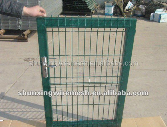 Welded wire mesh fence gate yard gates buy