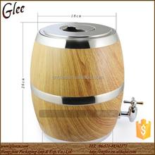 Solid Oak beer bucket wood wine barrel with Stainless steel inside