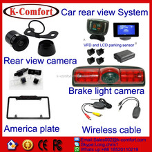 K-comfort good price and quality eu license plate frame car reversing camera Mainly for European and USA market for sale