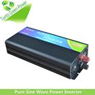 Onda senoidal pura inversor 1000 W carregador ajustável DC12 / 24 / 48 v para AC 100 / 240 v 50 / 60 Hz