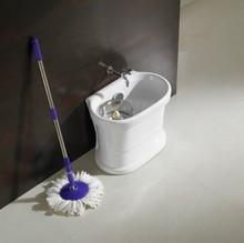 new style toilet sanitaryware 360 magic ceramic spin mop