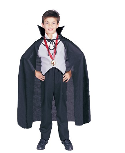 Mini simple face anime cosplay décoration cape pour enfants