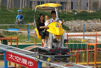 hot selling amusement thrilling adult games theme park flying ufo
