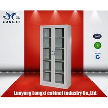 hot sale glass door cabinet, metal file cabinet, color locker