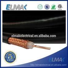 75ohm alta qualidade cabo Coaxial RG6 305 M / carretel de madeira