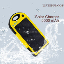 Solar mobile phone charger, handy portable power bank, waterproof solar charger for iphone 6 YD-T011