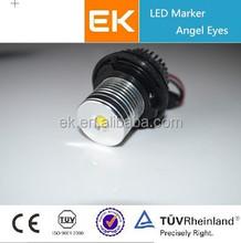 EK Favorites Compare High Power LED Angel Eyes Car Angel Eye Projector Headlights COB Angel Eyes