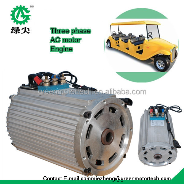 Ev Ac Motor Kit Traction Motor For Electric Car Price
