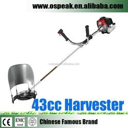 43CC Harvester Rice Wheat Cutting Machine