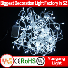 CE ROHS approved 9 color 10 m 100 leds christmas light bulb covers wire christmas mini light covers