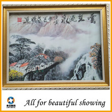 landscape abstarct oil painting canvas, oil painting canvas for lobby decoration, oil painting