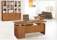 2015 Modern Wood MDF Melamine +Metal Office Executive Table/Desk CN812