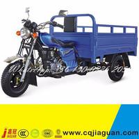 Blue 4.50-12 Tires 150cc 250cc Gasoline Three Wheel Motor Tricycle