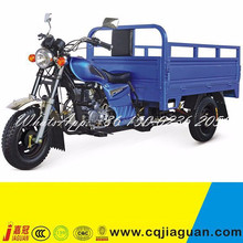 Blue 4.50-12 Tires 150cc 250cc Gasoline Three Wheel Motor Tricycle