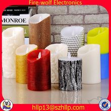 Oman Factory & Exporter light up candle wall picture candle pen