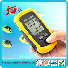 New portable remote control fish finder with LCD display