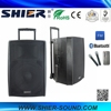 SHIER 2015 Top Selling Waterproof Portable AK15-308 Bluetooth Pa Speakers With Trade Assurance