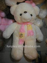 HI CE71 Pink Big popular scarf baby teddy bear