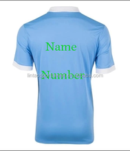 Free shipping to Manchester KUN AGUERO football shirt uniform 2015/16 season original grade home away Man city soccer jersey