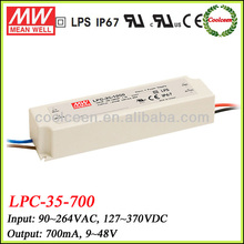 Meanwell LPC-35-700 700ma constant current led driver