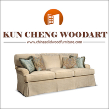 classic wooden french sofa furniture in fabric/Living Room Sofa Specific Use